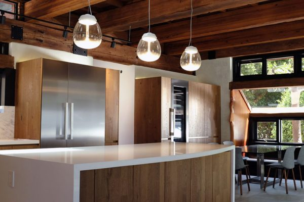 Malibu Rustic Kitchen Featuring LEICHT Cabinets