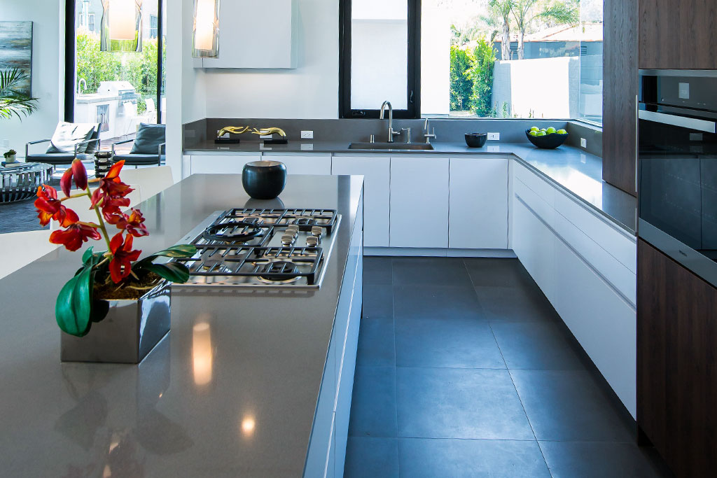 luxury kitchen design in los angeles - leicht los angeles