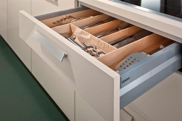 german cabintery showing utensils