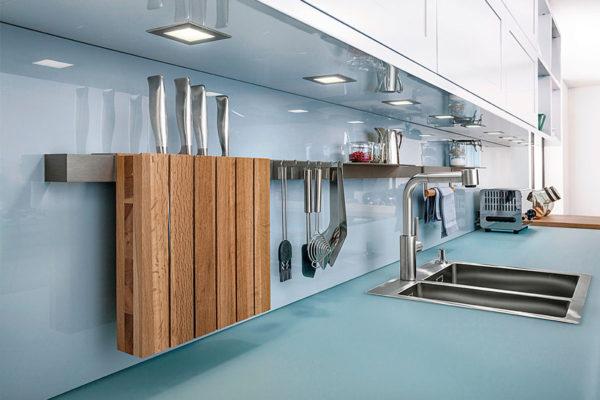 kitchen accessories in a modern kitchen