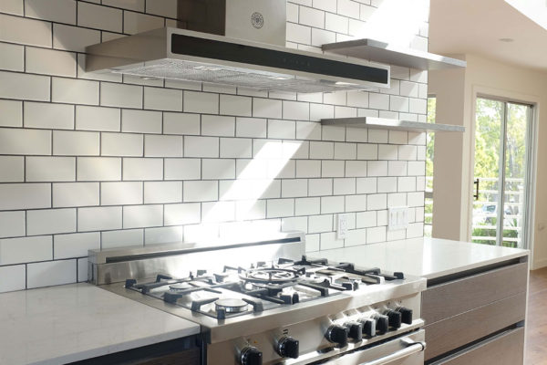 subway tile kitchen los angeles