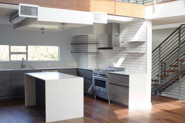 modern sleek kitchen los angeles