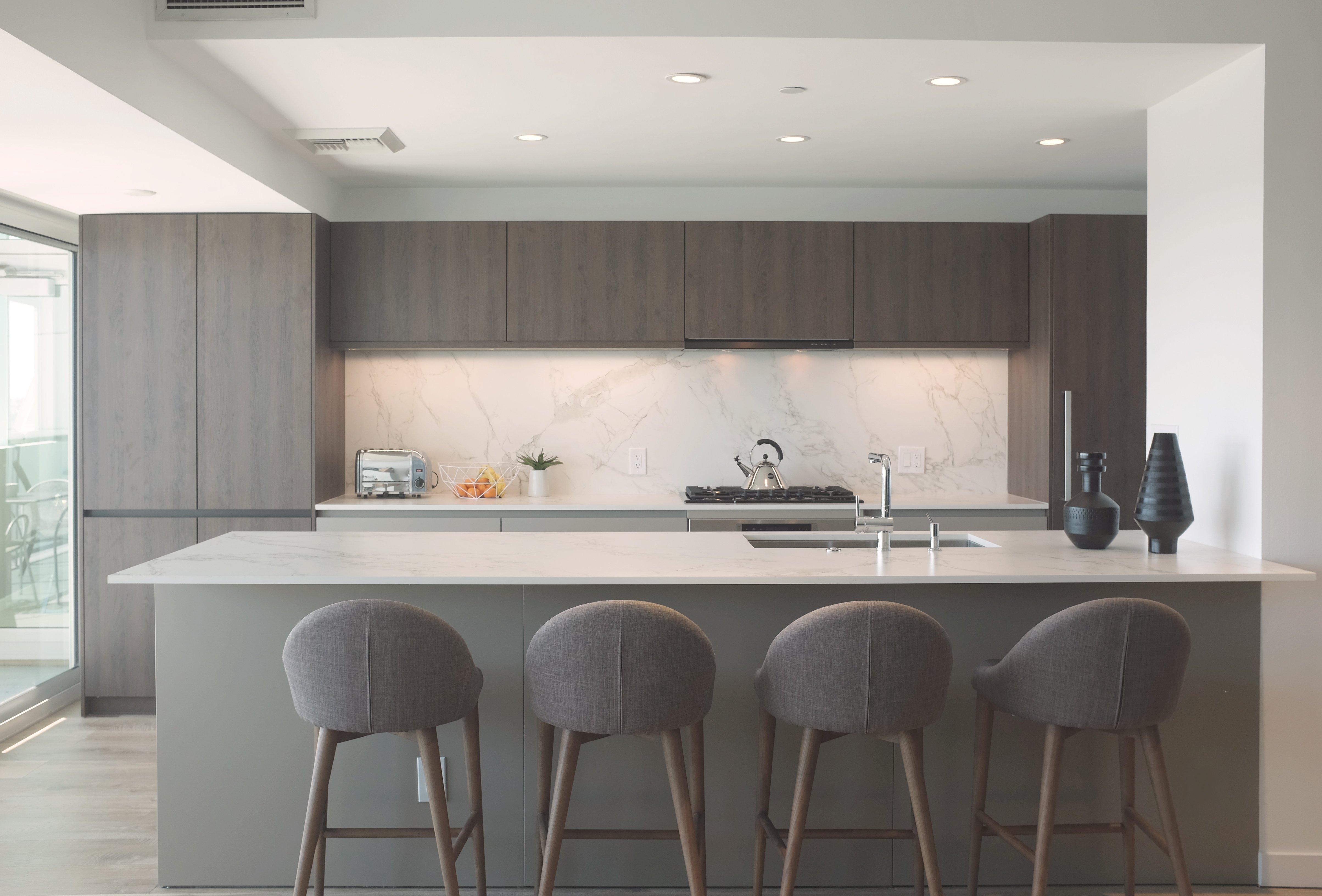 Handle-less Kitchen Marina Del Rey