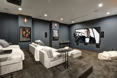 modern theater room