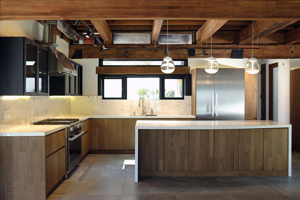 Malibu Rustic Kitchen Featuring Leicht Cabinets Leicht
