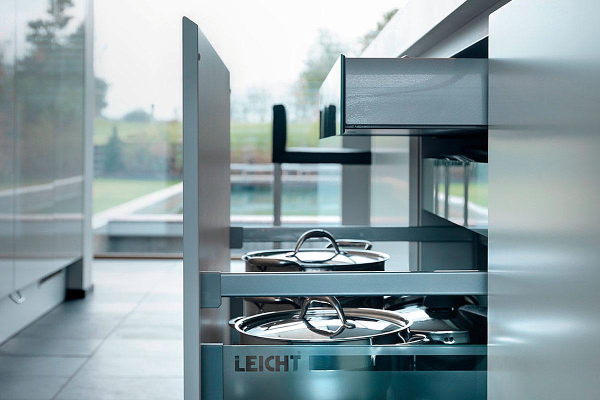 Interior Accessories | Kitchen Works LA | LEICHT Kitchens